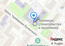 Компания «Архангельский техникум строительства и экономики» на карте