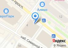 Компания «БИЗНЕС ПЛАН АРХАНГЕЛЬСК» на карте
