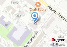 Компания «Банкомат КБ Северный кредит» на карте