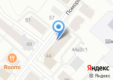 Компания «Строящийся жилой дом по ул. Поморская» на карте