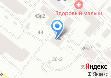 Компания «Архстройресурс» на карте