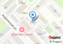 Компания «Мотель на Карельской» на карте