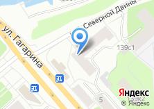 Компания «Град вещей» на карте