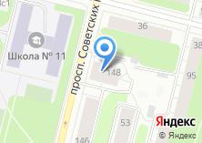 Компания «Технологии красоты-Архангельск» на карте