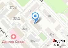 Компания «Севдорпроект» на карте