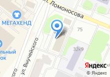 Компания «Министерство промышленности и торговли по Архангельской области» на карте
