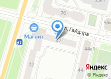 Компания «Марта» на карте