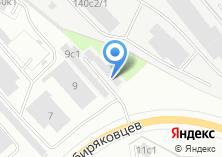Компания «ТЕХКОМ» на карте
