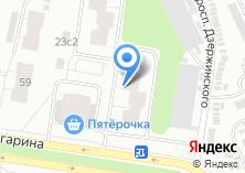 Компания «ПМЖ» на карте