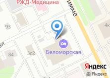 Компания «Беломорский» на карте