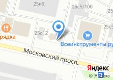 Компания «Точка А» на карте