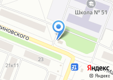 Компания «Магазин овощей и фруктов на ул. Малиновского» на карте
