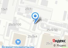 Компания «Автоключ» на карте