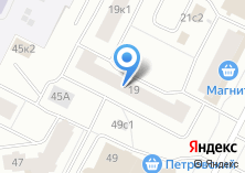 Компания «Двина-лифт Архангельск» на карте