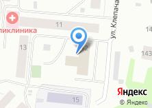 Компания «Исакогорский узловой совет ветеранов железнодорожного транспорта» на карте