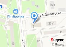 Компания «Магазин тканей и постельных принадлежностей» на карте