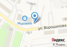 Компания «Автостоянка на Ворошилова» на карте