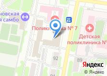 Компания «Информатика» на карте