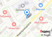 Компания «АкваДом» на карте