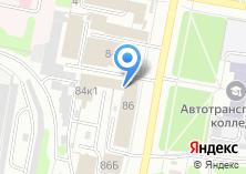 Компания «Автосервис на Ташкентской» на карте