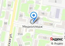 Компания «Ивановский медицинский колледж» на карте