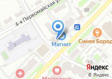 Компания «Оптикор» на карте