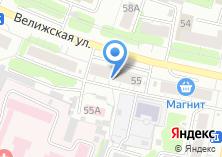 Компания «Промтоварный магазин №5» на карте