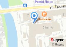 Компания «М+» на карте