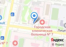 Компания «Центр гигиены и эпидемиологии в Ивановской области» на карте