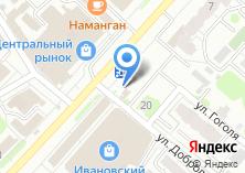Компания «Деньга» на карте
