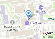 Компания «Союзтекстиль» на карте