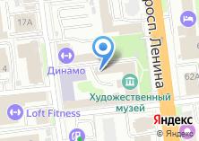 Компания «Ивановский областной художественный музей» на карте