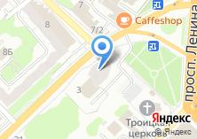 Компания «Строящееся административное здание по ул. Жарова» на карте