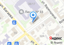 Компания «Ивановский учебно-курсовой комбинат автомобильного транспорта» на карте