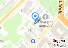 Компания «Цветущие шары» на карте
