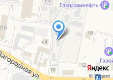 Компания «Автомойка на ул. Загородной» на карте