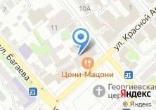 Компания «Серьезные проекты» на карте