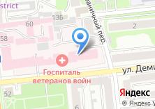 Компания «Ивановский областной госпиталь для ветеранов войн» на карте