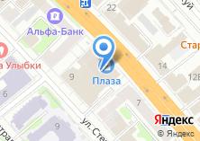 Компания «La creme» на карте