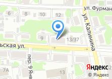 Компания «Территориальная избирательная комиссия Октябрьского района г. Иваново» на карте