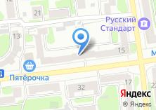 Компания «Эврика-мебель» на карте