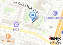 Компания «Консалт» на карте