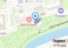 Компания «Строящееся административное здание по ул. Набережная» на карте