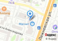 Компания «4за.рф» на карте