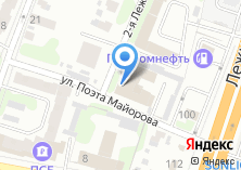 Компания «Алстром» на карте