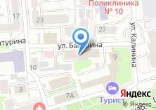 Компания «Территориальный орган Федеральной службы государственной статистики по Ивановской области» на карте