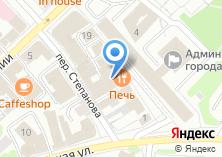 Компания «Индюшкин» на карте
