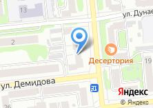 Компания «Мебель Оптима» на карте