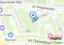Компания «Амтек» на карте