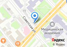Компания «Ивановская городская теплосбытовая компания» на карте